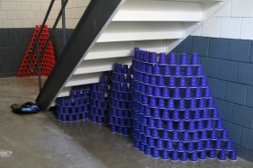 Undulating Cup Wall