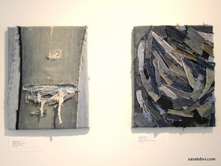 """Holey Spaces and Vortex (both 11"""" x 18"""")"""