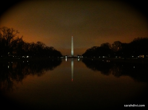 Nighttime Washington Monument