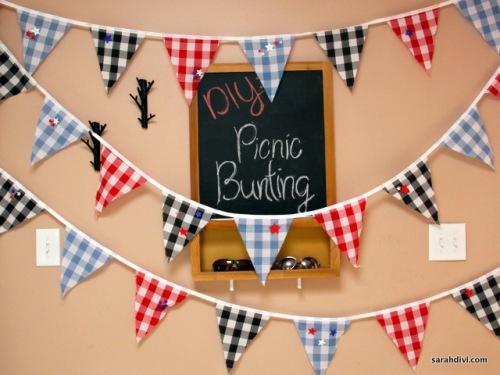 picnic bunting