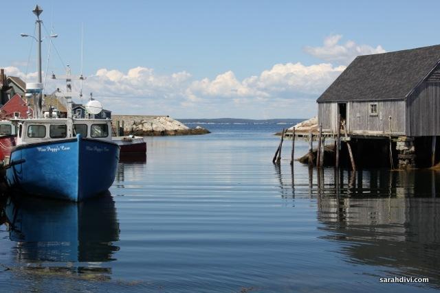 Peggy's Cove, Nova Scotia. Photo by Sarah Divi