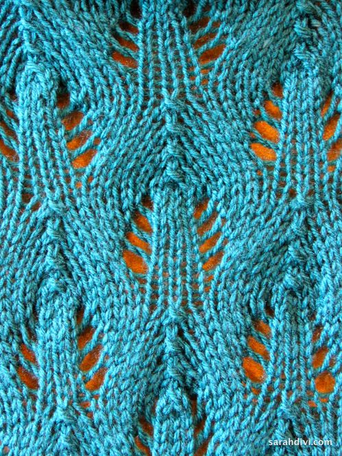 Peacock Knitting Pattern : Peacock Plumage Scarf and a Hudson River Museum Update   Sarah Divi