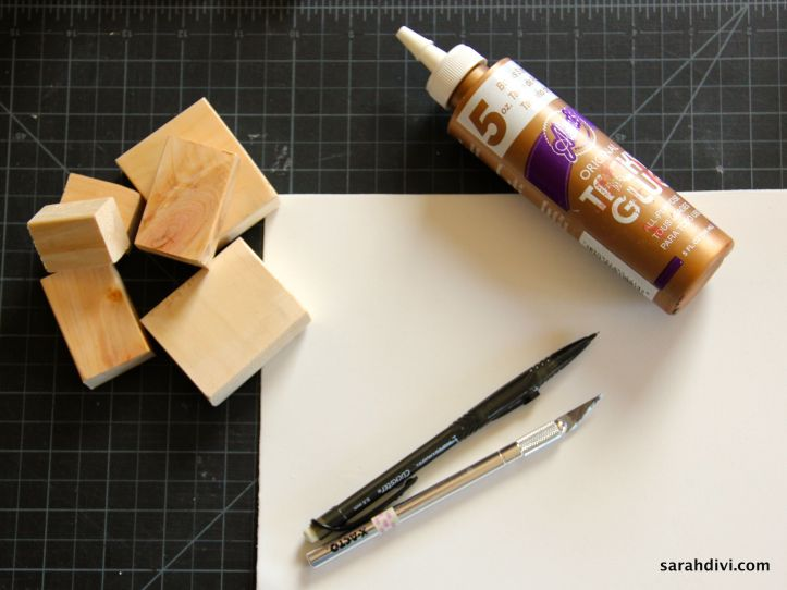 Create Your Own Stamps Tutorial | SarahDivi.com