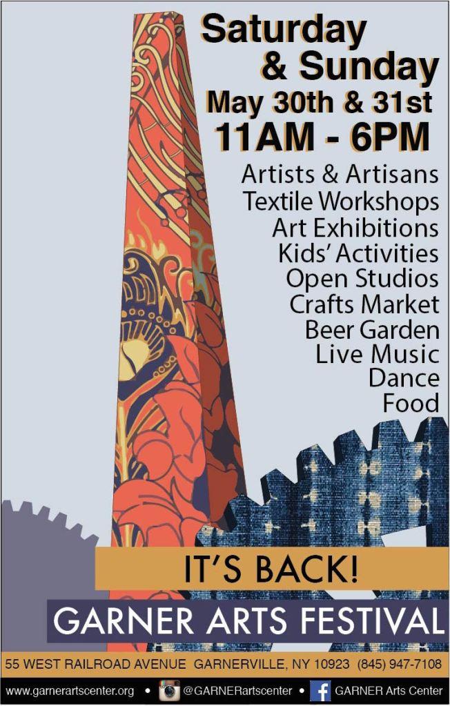 Garner Arts and Music Festival May 2015 in Garnerville, NY